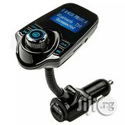 T10 Wireless In-car Bluetooth FM Transmitter Radio Adapter Car Kit | Vehicle Parts & Accessories for sale in Lagos State, Apapa