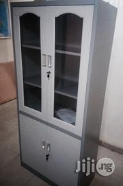 New Office Metal Book Shelve With Glass | Furniture for sale in Lagos State, Lekki Phase 2