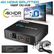 HDMI Splitter 1 In 2 Out 1080P Ver 1.4 Powered Amplifier | Accessories & Supplies for Electronics for sale in Lagos State, Ikeja