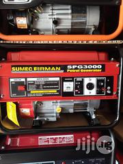 Red Sumec Firman Petrol Generator Model Spg3000   Electrical Equipment for sale in Rivers State, Obio-Akpor