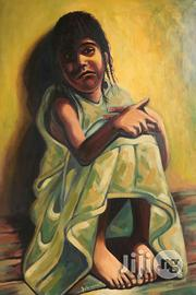 Artworks for Sale. Size; 2by3 Feet Tall. Title: ISOLATION. | Arts & Crafts for sale in Lagos State, Victoria Island