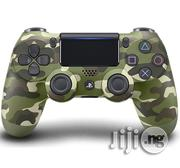Dual Shock 4 Controller For Playstation 4 (PS4 Game Pad) - Green Camo | Video Game Consoles for sale in Lagos State, Ikeja
