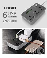 LDNIO 6 USB Smart Charging Hub With 3 ANTI STATIC Power Sockets | Computer Accessories  for sale in Lagos State, Ikeja
