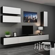 HAYE Wall Mount TV Stand Combo(C03)-High Gloss | Accessories & Supplies for Electronics for sale in Lagos State, Magodo
