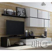 Haye Unique Wall Unit Furniture Set Cabinet Stand Shelf | Furniture for sale in Lagos State, Magodo