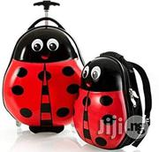 Lady Bug 2 Piece Trolley Bag And Backpack | Bags for sale in Lagos State, Amuwo-Odofin