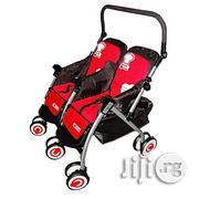 Universal Two In One Double Stroller- Red And Black | Prams & Strollers for sale in Abuja (FCT) State, Central Business District