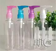 250ml Empty Transparent Plastic PET Lotion Bottle With Pump Cap | Manufacturing Materials & Tools for sale in Lagos State