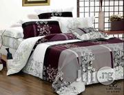 Flowered Bedsheet + Duvet With 7/8 Pillows | Home Accessories for sale in Lagos State, Lagos Mainland