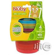 Nuby Easy Travelbaby Food Storage Pots With Lids - Set of 6 | Baby & Child Care for sale in Lagos State, Ikoyi
