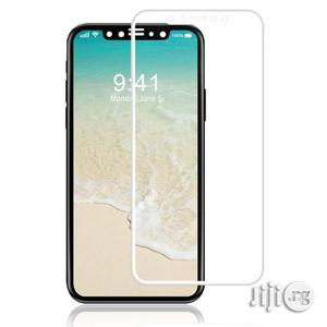 iPhone X Protective Tempered Glass Screen Guard White