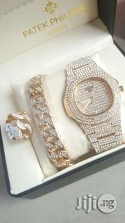 #Patek With Cuba Ring N Chain | Jewelry for sale in Lagos State, Badagry