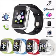 A1 Bluetooth Smart Watch (Wrist Phone Watch) | Smart Watches & Trackers for sale in Lagos State, Ikeja
