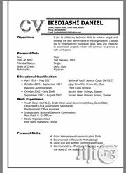 Human Resources CV | Human Resources CVs for sale in Oyo State