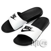 Nike Benassi Slide Slippers White | Shoes for sale in Lagos State, Lagos Island