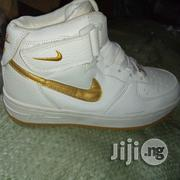 Nike White Sneakers | Children's Shoes for sale in Lagos State, Yaba