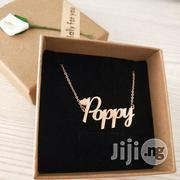 Custom Name Copper Necklace   Jewelry for sale in Lagos State, Surulere