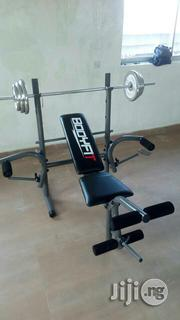 50kg Weight With Bench Press | Sports Equipment for sale in Lagos State, Ikeja