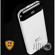 Rocco Power 20000mah Bank- R Mah Led Light Indicator - White | Accessories for Mobile Phones & Tablets for sale in Abuja (FCT) State, Gwagwalada