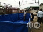 Movable Diesel Solid Tarpaulin Tank 15ft/7ft   Farm Machinery & Equipment for sale in Rivers State, Port-Harcourt