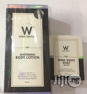 Wink White Lotion+Soap | Bath & Body for sale in Lagos State, Amuwo-Odofin