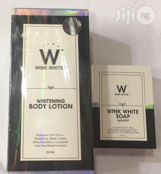 Wink White Lotion+Soap