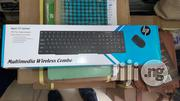 HP Multimedia Wireless Keyboard & Mouse 2.4 Ghz Wireless Connectivity | Computer Accessories  for sale in Lagos State, Ikeja