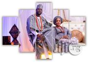 Make Your Custom Made Wedding Picture HD Canvas Wall Art | Wedding Wear for sale in Lagos State, Agege