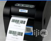 80mm USB Port Barcode Label Printer Thermal Sticker Printer XP-350B   Store Equipment for sale in Lagos State, Ikeja