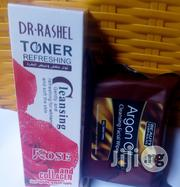 Dr Rashel Face Cleanser Plus Argan Oil Face Wipes | Makeup for sale in Lagos State, Lagos Mainland