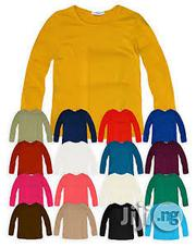 Good Quality Cotton Plain Long-Sleeved Tee Shirt (Wholesale) | Children's Clothing for sale in Lagos State, Lagos Mainland