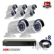 8 IP Hikvision Cameras CCTV Kit, 4mp, IR Night Vision | Security & Surveillance for sale in Lagos State, Ikeja