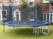 12ft Trampoline With Safety Enclosure. | Sports Equipment for sale in Abuja (FCT) State, Wuse