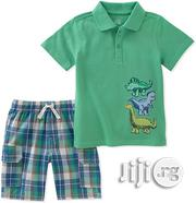 Kids Headquarters Polo and Short Set | Children's Clothing for sale in Lagos State, Surulere