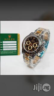 Rolex Oyster Perpetual Sapphire Chronograph Quality Chain Watch | Watches for sale in Lagos State, Surulere