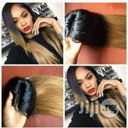 Blonde Tip Straigh Wig With Closure | Hair Beauty for sale in Lagos State, Ikeja