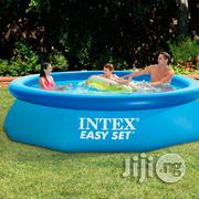 "Intex 10ft X 2.5ft"" Easy Set Above Ground Inflatable Swimming Pool 