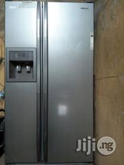 Very Neat Samsung Uk Used Giant Bible Fridge | Kitchen Appliances for sale in Lagos State, Ojo