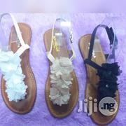 Flowers Ruffle Sandal   Shoes for sale in Lagos State, Ikoyi