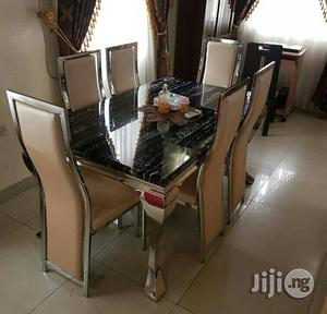 Pure 6 Seaters Marble Dinning and Chairs
