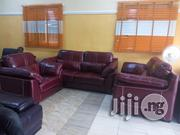 Imported Italian Leather Living Room Sofa Chair Seven Seaters | Furniture for sale in Lagos State, Lekki Phase 1