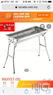 Taii Stainless Steel Portable Folding Charcoal BBQ Grill Stand | Restaurant & Catering Equipment for sale in Lagos State, Lagos Island