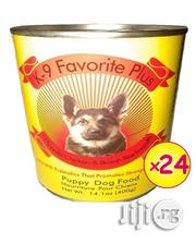 K-9 Favorite Canned Dog Food Puppy - 24 Cans | Pet's Accessories for sale in Lagos State, Agege