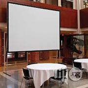 Front Or Rear Projection Screen 96 X120 | TV & DVD Equipment for sale in Abuja (FCT) State, Wuse 2