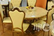 Golden Baze Marble Dinning Set | Furniture for sale in Abuja (FCT) State, Wuse