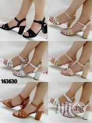 Classic Block Heel Sandals   Shoes for sale in Lagos State, Surulere