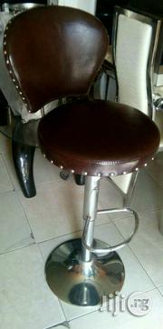 Brown Leather Bar Stool | Furniture for sale in Lagos State, Ojo