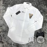 Louis Vuitton Shirt With 'V' Embroidery | Clothing for sale in Abuja (FCT) State, Asokoro