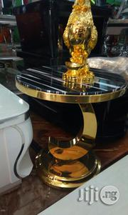 Marble Stool(Gold) | Furniture for sale in Abuja (FCT) State, Asokoro