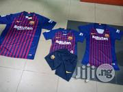 Barcelona Home Jersey | Children's Clothing for sale in Lagos State, Ikeja